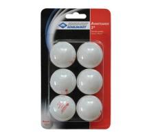 Мячи Donic (6 шт.) 3* белые