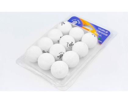 Набор мячей для настольного тенниса Giant Dragon (12 шт.) MT-6558-W (целлулоид, d-40мм, белые)