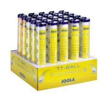 Набор мячей для настольного тенниса Joola BALLDISPLAY TRAIN MIX W/O