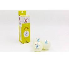 Набор мячей для настольного тенниса Giant Dragon TECHNICAL 3 (3 шт.) MT-6551-W (целлулоид, d-40мм, белый)