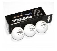 М'ячі для настільного тенісу Yasaka 40+ (3 шт.)