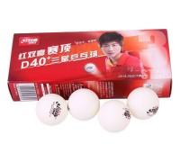 Мячи для настольного тенниса DHS 3 D40+ plastic (10 шт.)