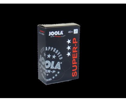 Мячи для настольного тенниса Joola Super-P 3* 40+ (6 шт в уп)