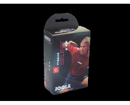 М'ячі для настільного тенісу Joola Select 3 * 40 + (6 шт в уп)