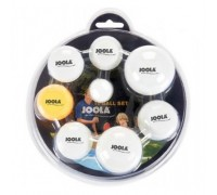 Набор мячей для настольного тенниса Joola Multisize Ball Set 7 шт.
