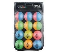 Мячи для настольного тенниса Joola Ballset Colorato 12 шт.