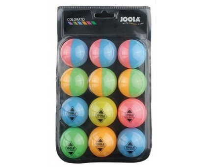 М'ячі для настільного тенісу Joola Ballset Colorato 12 шт.