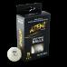 М'ячики для настільного тенісу Atemi 3* 6шт 40+ пластик білi