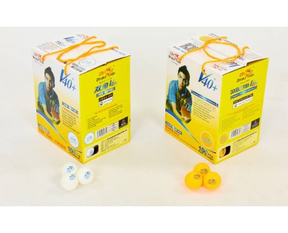 Набор мячей для настольного тенниса 100 шт DOUBLE FISH 510280 1*