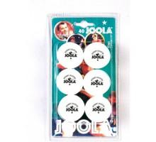 Мячи для настольного тенниса Joola Rossi 1* 40+ (6 шт в уп)