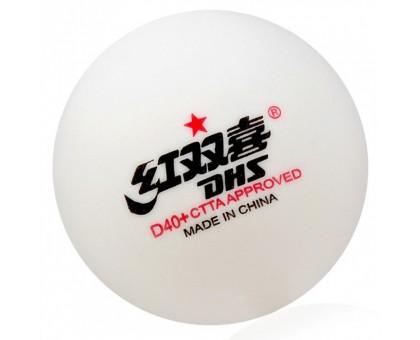 М'ячі DHS CELL-FREE DUAL 40+ мм 1*(10 шт)