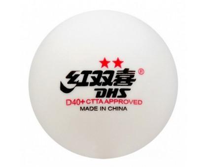М'ячі DHS CELL-FREE DUAL 40+ мм 2* (10 шт)