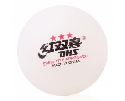 М'ячі DHS CELL-FREE DUAL 40+ мм 3 * (10 шт)