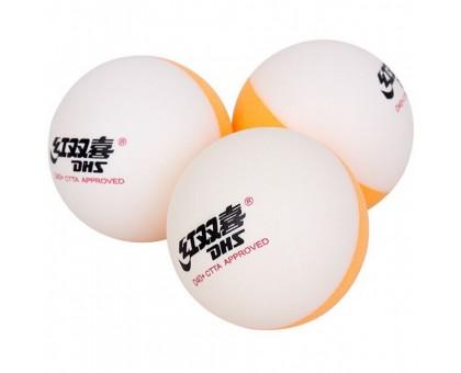 М'ячі DHS Cell-Free Dual Bi Colour 40+ мм (10 шт)
