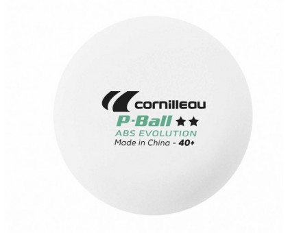 Кульки для настільного тенісу Cornilleau P-Ball 2 * ITTF (6 шт.)