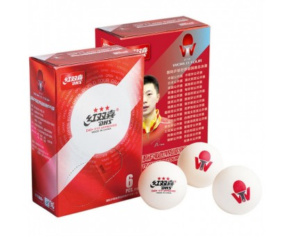 Мячи DHS ITTF World Tournament Ball 40+ мм 3*