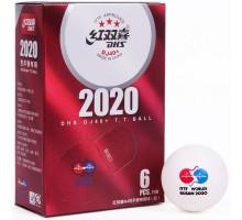 М'ячі DHS ITTF WTTC Busan 2020 DJ40+ 3*