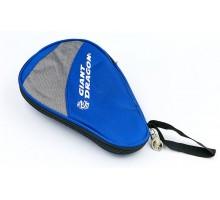 Чохол на ракетку для настільного тенісу Giant Dragon MT-6549-B (поліестер, р-р 28х2х18см, для 1-ї ракетки, синій-сірий)