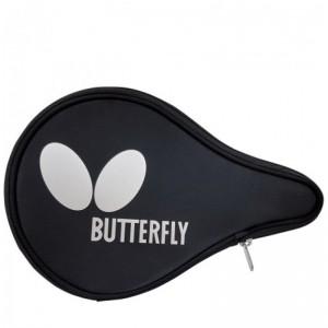 Чехол для одной ракетки Butterfly Logo овал, черный