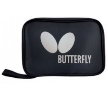 Чохол для двох ракеток Butterfly Logo прямокутній, чорний