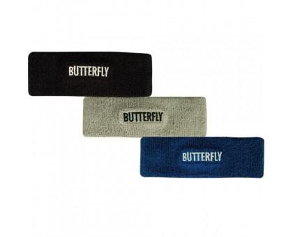 Повязка на голову Butterfly (серая)