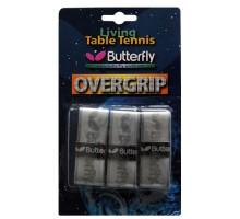 Обмотка для ручки Butterfly Overgrip (3шт., серый)