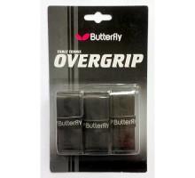 Обмотка для ручки Butterfly Overgrip (3шт., черный)