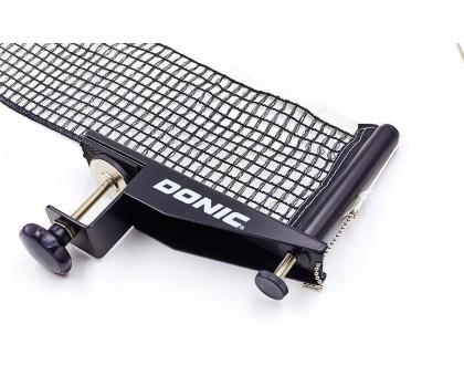 Сітка для настільного тенісу з гвинтовим кріпленням DONIC МТ-808341 Ralley (метал, NY, PVC чохол)