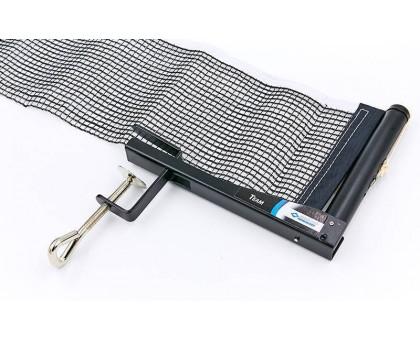 Сітка для настільного тенісу з гвинтовим кріпленням DONIC MT-808311 TEAM (метал, NY, упак. блiстер)