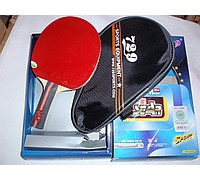 Набор для настольного тенниса 729 Friendship 1 star (ракетка, чехол)