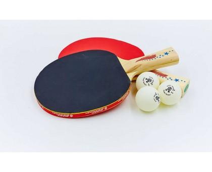 Набір для настільного тенісу Giant Dragon SUPER TENSION 40+ (2 ракетки, 3 м'ячі) MT-5683