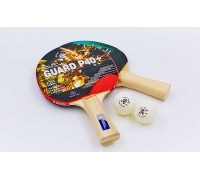 Набор для настольного тенниса Giant Dragon SUPER 40 (2 ракетки, 2 мяча c чехлом) MT-5681