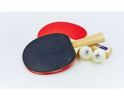 Набір для настільного тенісу Giant Dragon SUPER 40 (2 ракетки, 2 м'ячі c чохлом) MT-5681