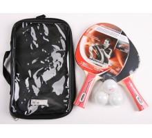 Набор для настольного тенниса Donic Waldner 600 2-player set (2ракетки, чехол, 3 мяча)