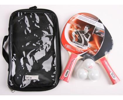 Набір для настільного тенісу Donic Waldner 600 2-player set (2 ракетки, чохол, 3 м'ячі)