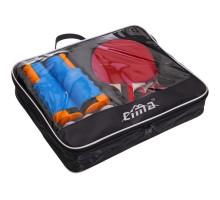 Набір для настільного тенісу 4 ракетки, 6 м'ячів, сітка з кріпленням з чохлом CIMA CM-2857