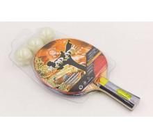 Набор для настольного тенниса 1 ракетка, 3 мяча Giant Dragon Karate P40+4*