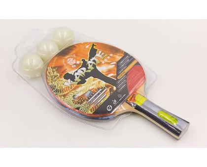 Набір для настільного тенісу 1 ракетка, 3 м'ячі Giant Dragon Karate P40 + 4 *