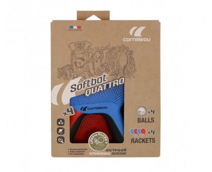 Набір ракеток для настільного тенісу Cornilleau Soft Pack Quattro