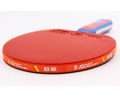 Набір для настільного тенісу 1 ракетка, 2 м'ячі з чохлом Giant Dragon 4* MT-6540