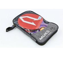 Набор для настольного тенниса MUK 800B (2 ракетки, 3 мяча с чехлом)