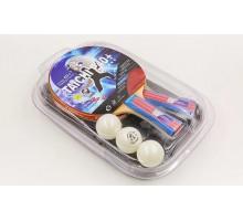 Набор для настольного тенниса Giant Dragon TAICHI P40+3* MT-6506 (2 ракетки, 3 мяча с чехлом)