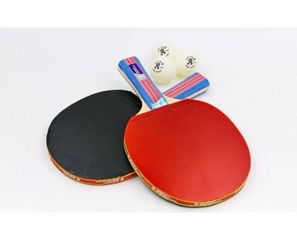 Набір для настільного тенісу Giant Dragon TAICHI P40 + 3 * MT-6506 (2 ракетки, 3 м'ячі з чохлом)