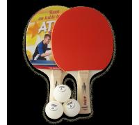 Набір для настільного тенісу Atemi HOBBY (2 рак+3 м 1*)