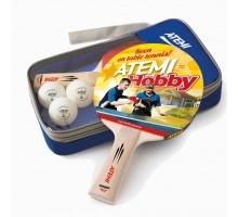 Набір настільного тенісу Atemi HOBBY (2р+3м+чохол)