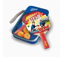 Набір для настільного тенісу ATEMI Strike (2р+3м+чохол)