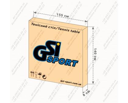 """Стіл тенісний """"GSI-sport"""", модель """"Hobby Premium"""", артикул Gk-1.18"""
