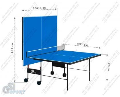"""Стіл тенісний """"GSI-sport"""", модель """"Athletic Strong"""", артикул Gk-3"""
