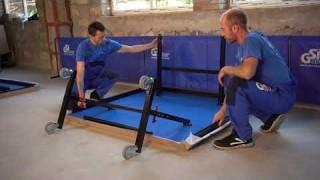 "Руководство по сборке теннисного стола ""GSI-sport""  модель ""Profy 200"""